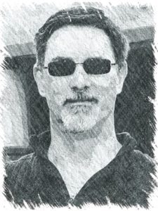 rick thompson pencil sketch