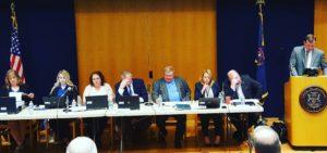 MMFLA Licensing Board meeting, 3/22/2018. Photo by Rick Thompson